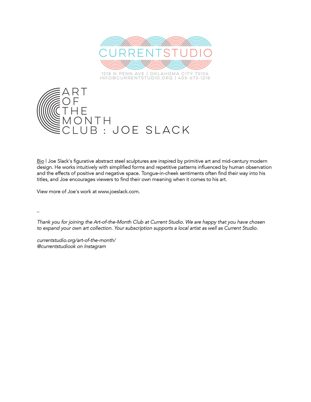 art of the month artist sheet - joe slack.jpg