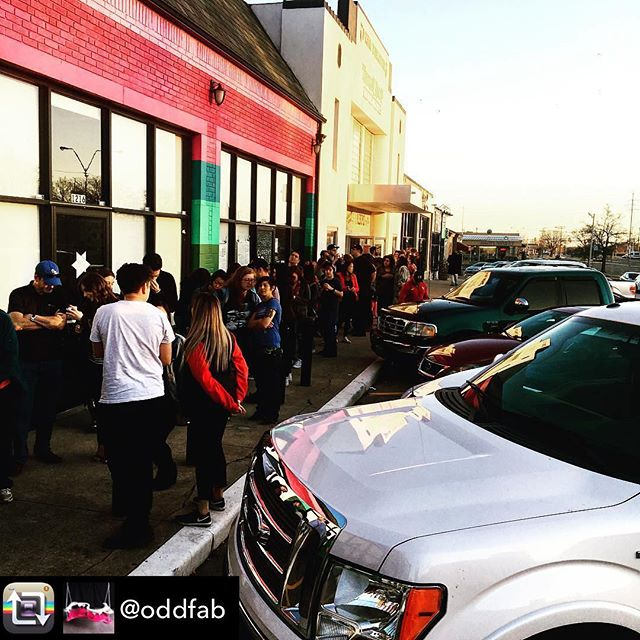 WE ARE STAYING OPEN LATE! Help us reach 20,000 visitors!  Repost from @oddfab - Last Chance to Experience the SHIFT in consciousness that @factoryobscura has installed in @currentstudiook - we will stay open as long as anyone is in line, so come get in line! Wait is currently only 30 minutes! Excitingality! Amazalicious! Incredibleness!  1218 N Penn OKC