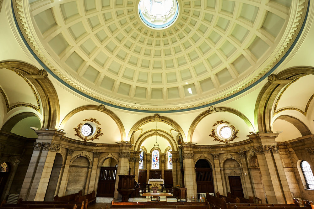 Blue Coat School Chapel interior