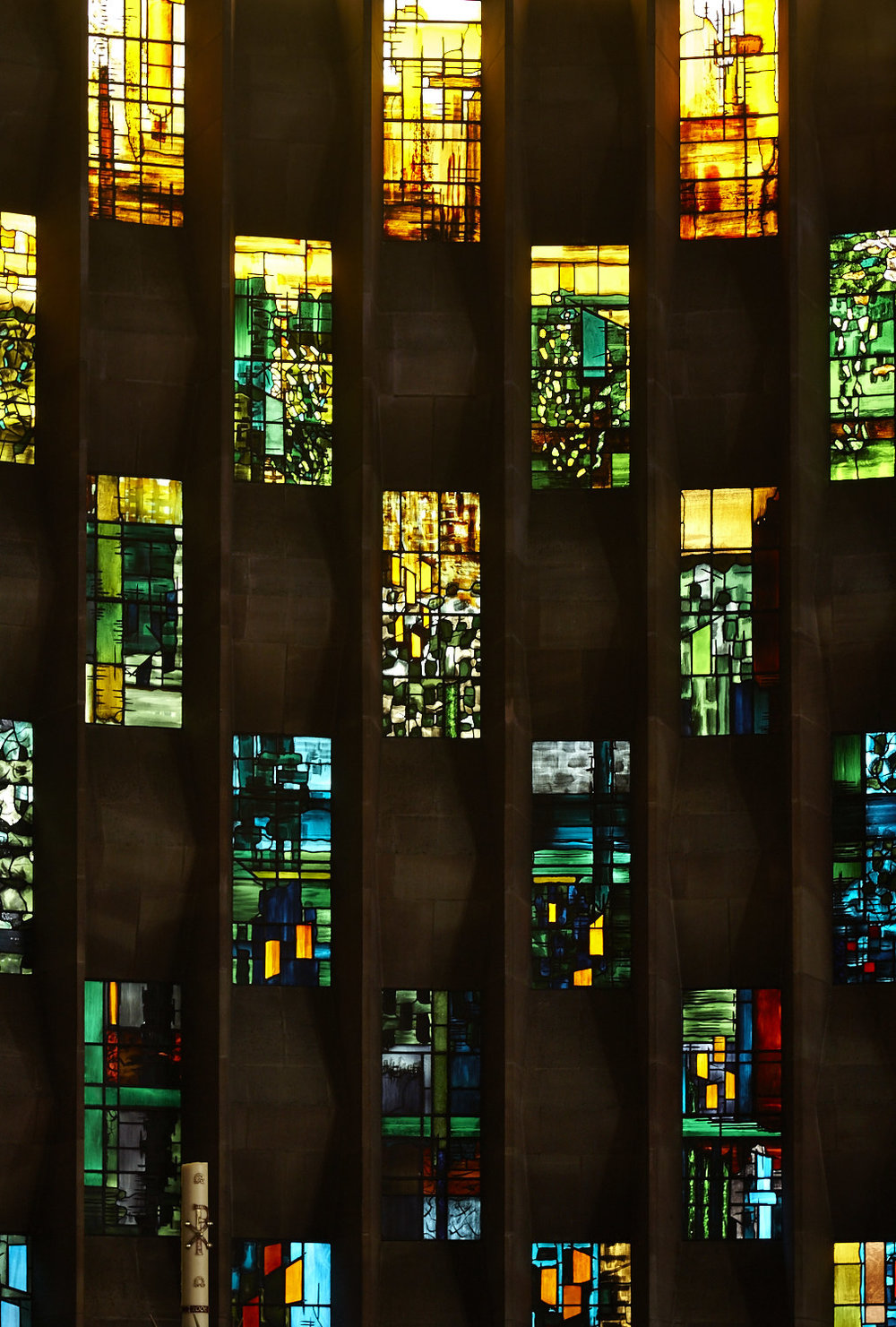 Baptistry Window, artist John Piper