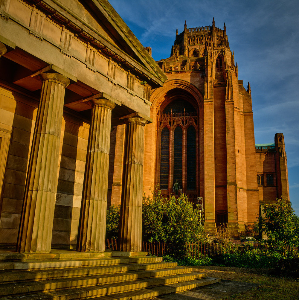 Liverpool Cathedral seen from The Oratory