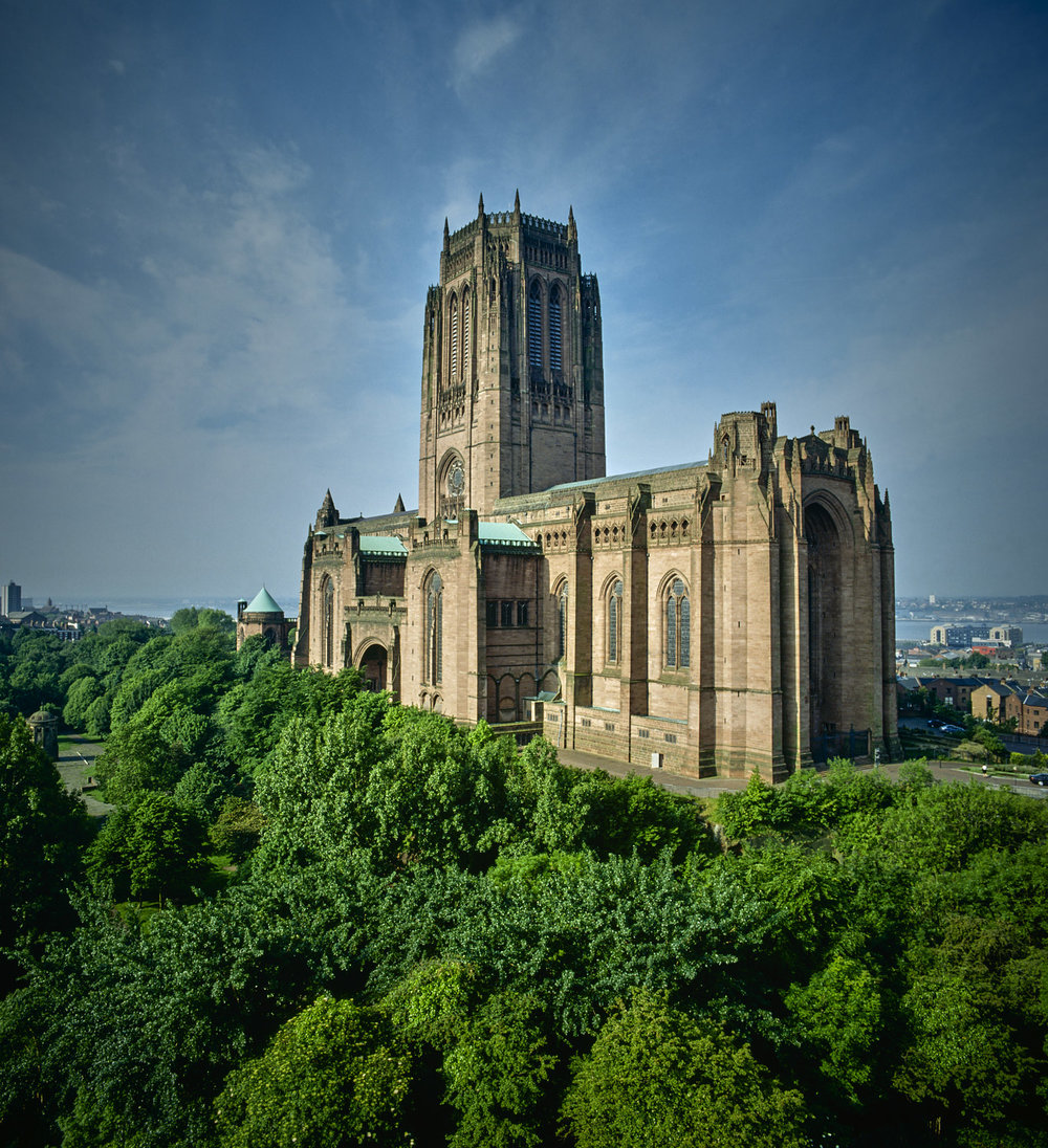 Liverpool Cathedral seen from LIPA