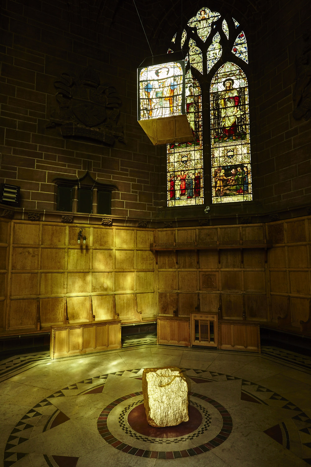 Earth and Æther, The Chapter House, Liverpool Cathedral