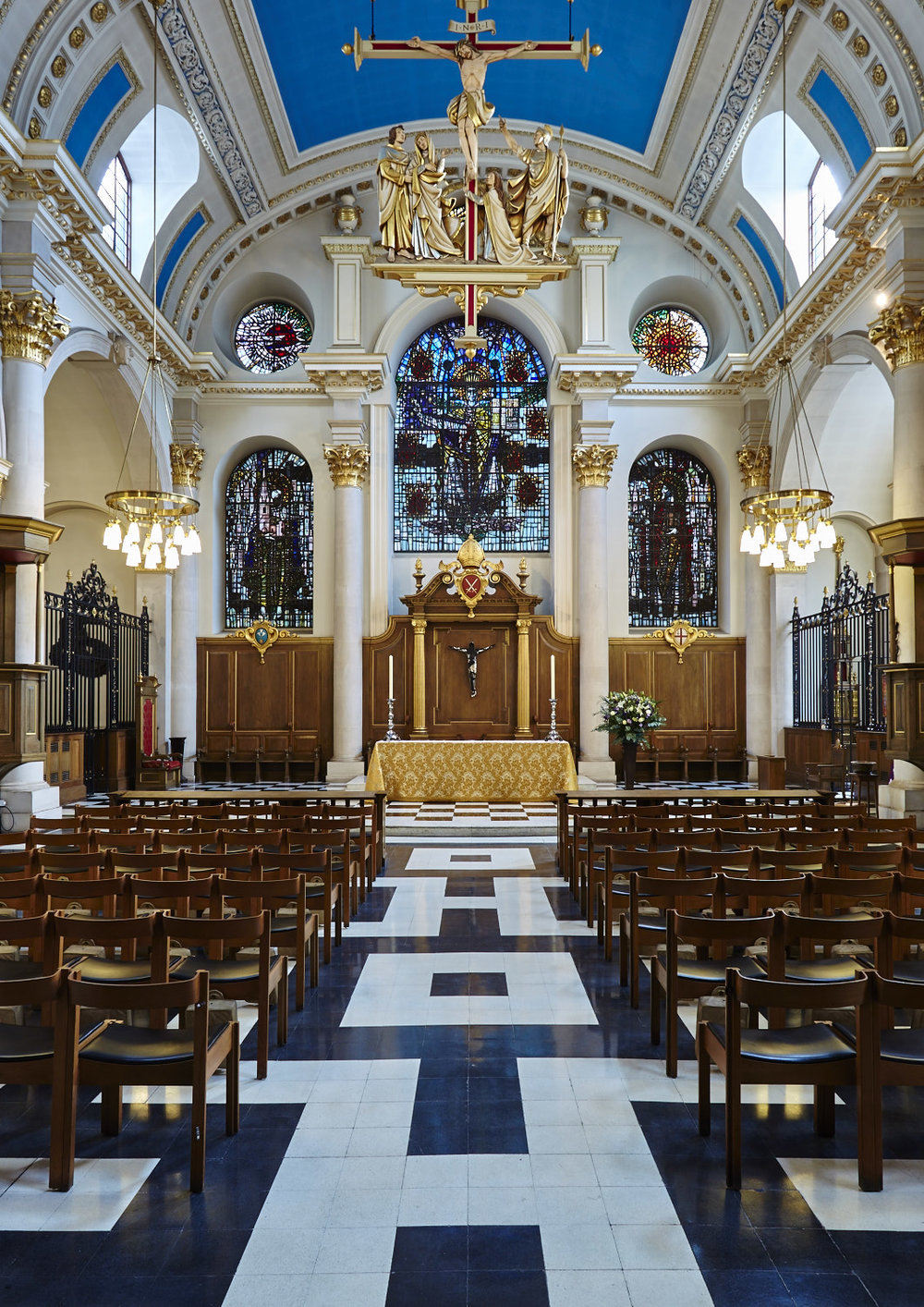 St Mary-le-Bow, the Nave