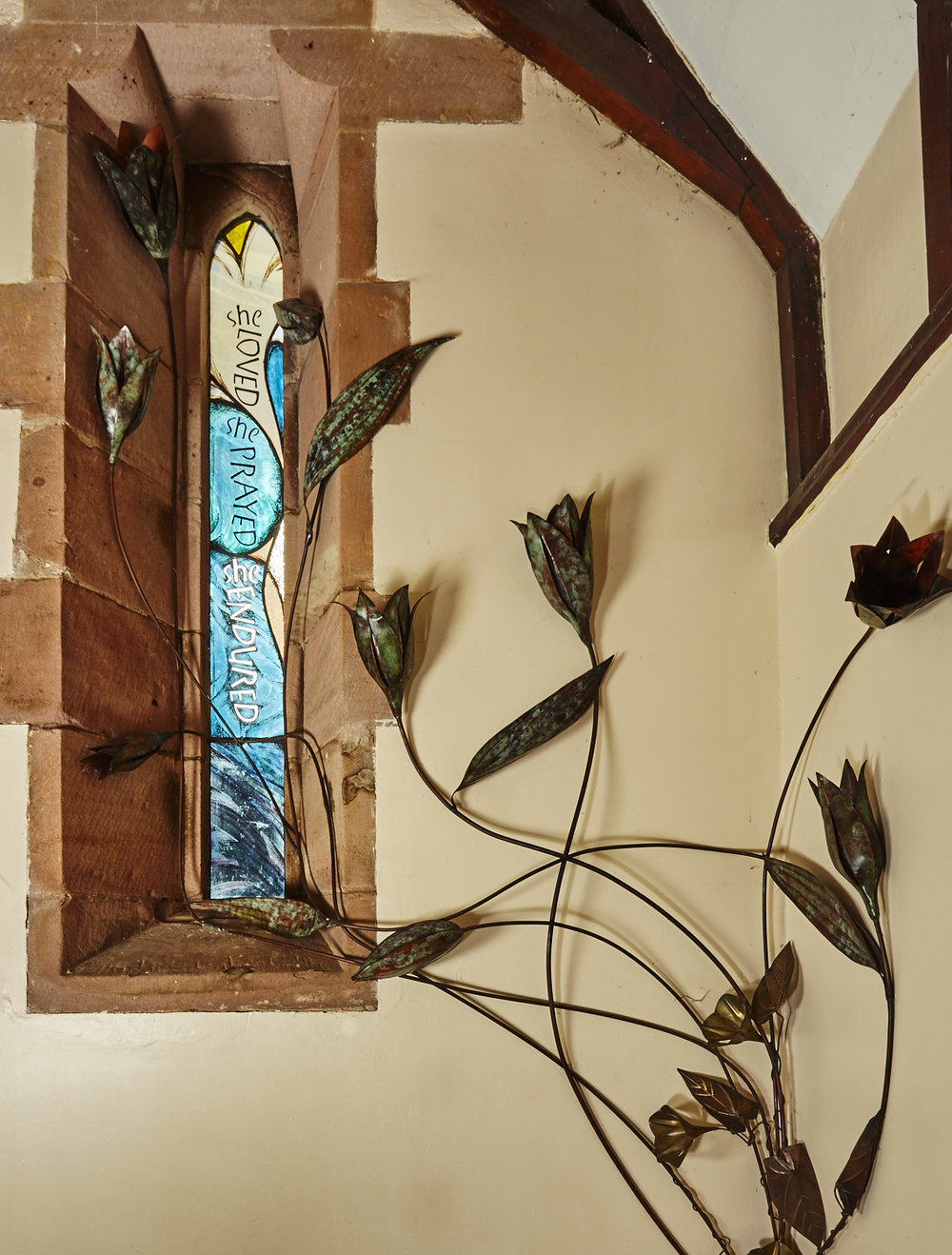 Centenary Window & Sculpture in memory of Josephine Butler