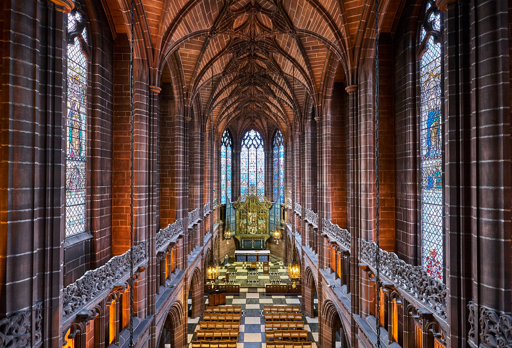 Lady Chapel from the Organ Loft, Liverpool Cathedral