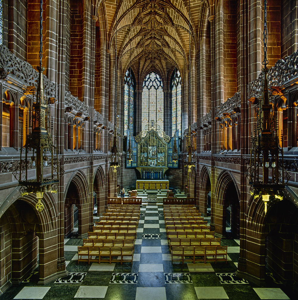 Lady Chapel from the gallery