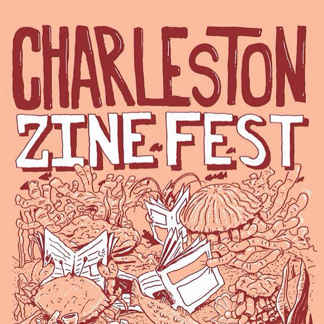 Stoked for the @charlestonzinefest at @halsey_institute today from 11am-6pm!