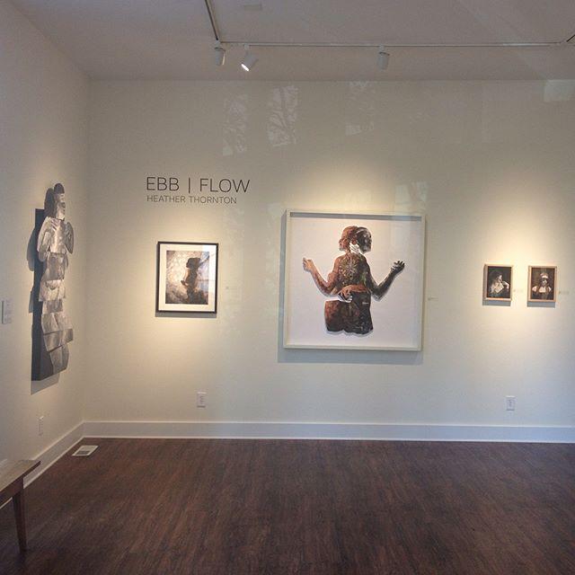 EBB | FLOW @beresford_studios on display thru Sept 2! #collage #art #exhibition #charleston