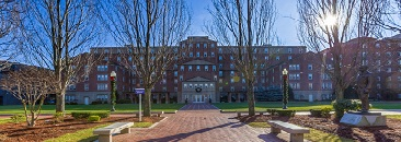 JWU's Providence Campus Gaebe Commons