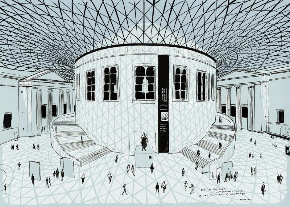 photo: London Sketchbook (Jason Brooks) - British Museum
