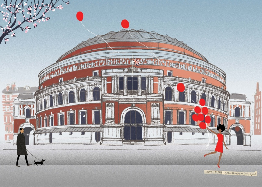 photo: London Sketchbook (Jason Brooks) - The Royal Albert Hall