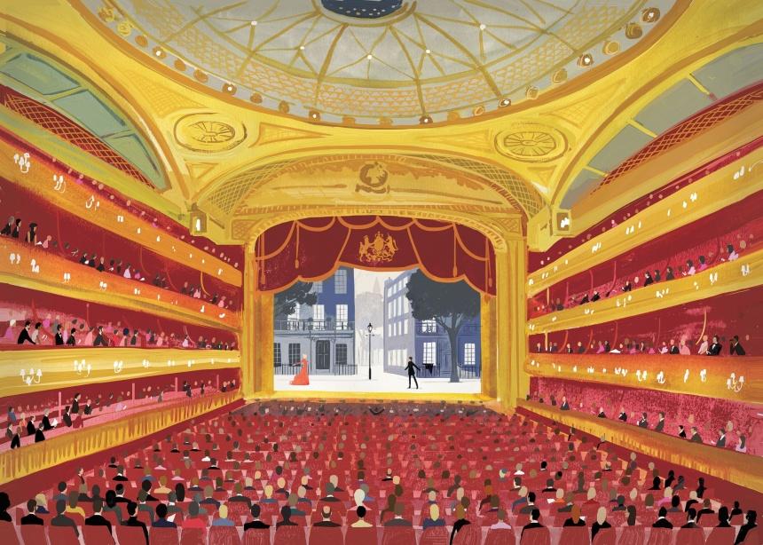 photo: London Sketchbook (Jason Brooks) - Royal Opera House