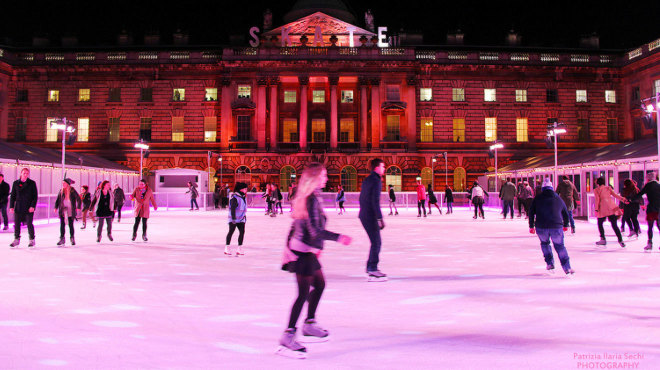 Ice skating at Somerset House (photo: Time Out London)