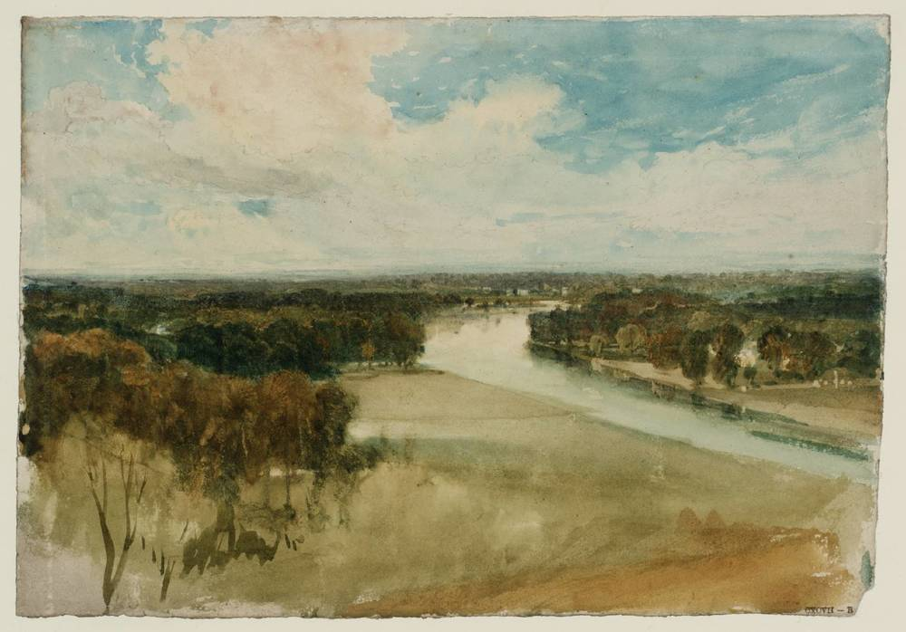 The Thames from Richmond Hill, circa 1815 by Joseph Mallord William Turner (source: tate.org)