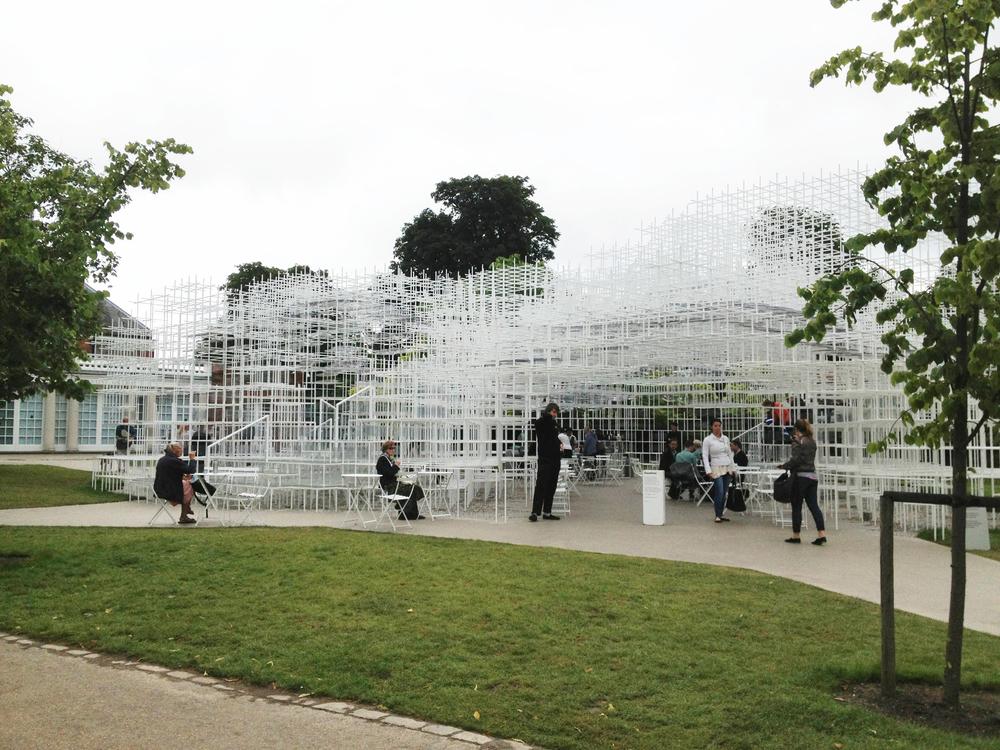 Serpentine Pavilion, Sou Fujimoto (2013) - own photo