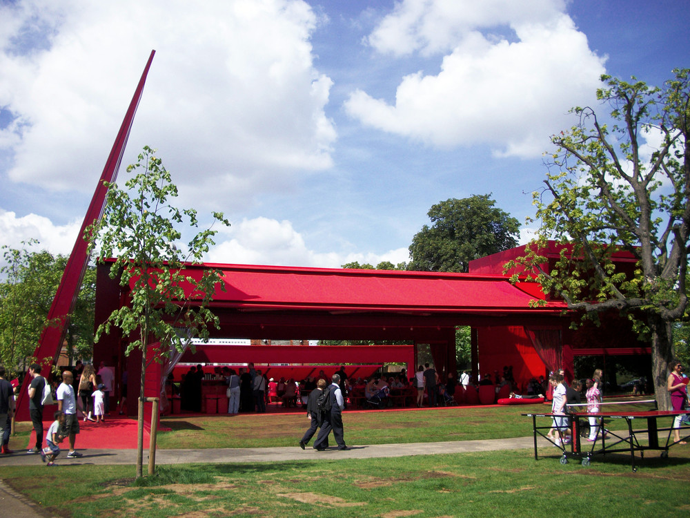 Serpentine Pavilion, Jean Nouvel (2010) - own photo