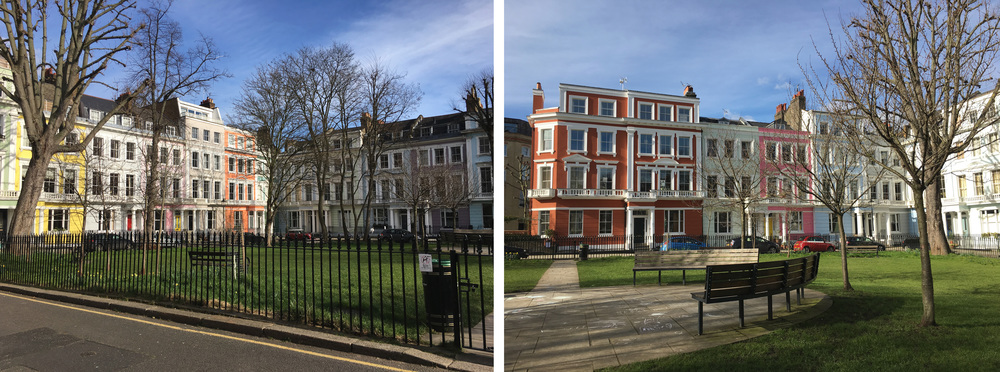 Chalcot Square  (own photos)