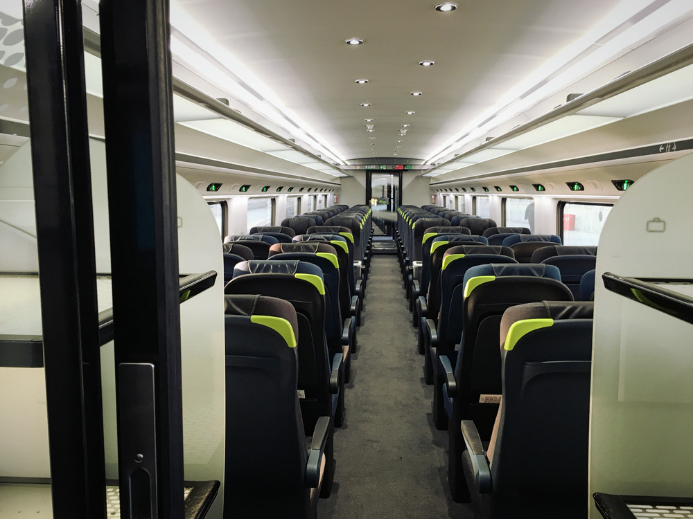 New Eurostar train  (own photo)