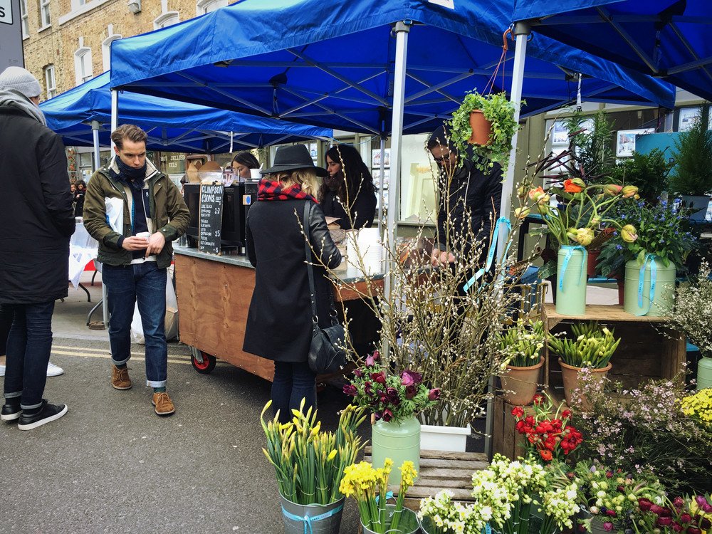Broadway Market  (own photo)