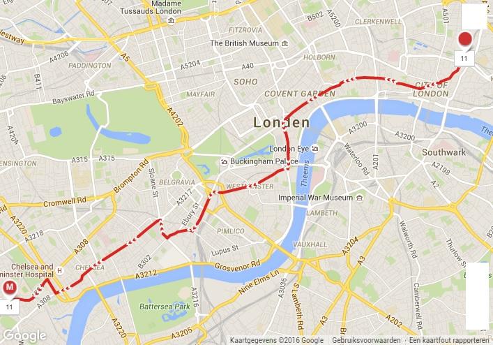 Bus 11 route
