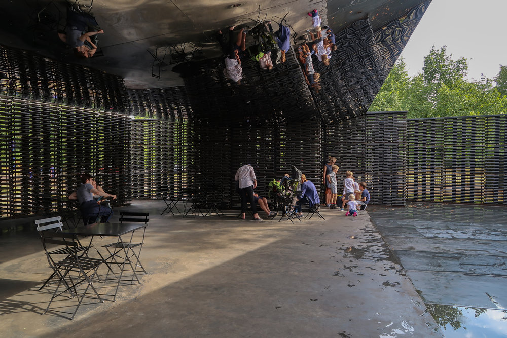 Serpentine Pavilion, Frida Escobedo (2018) - own photo