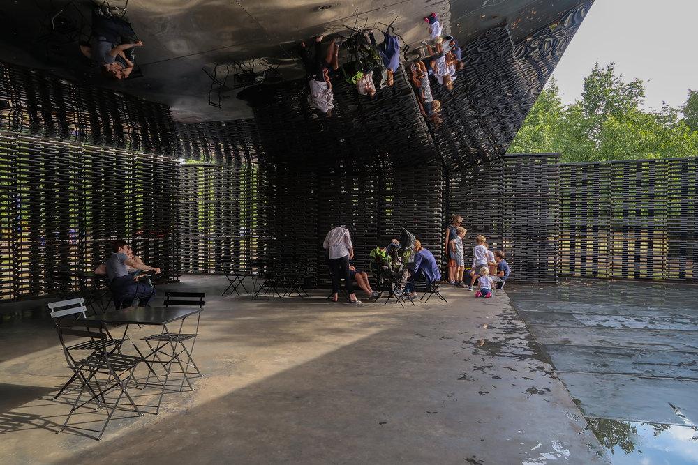 Serpentine Pavilion 2018 - own photo