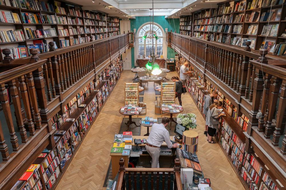 Daunt Books Marylebone - own photo