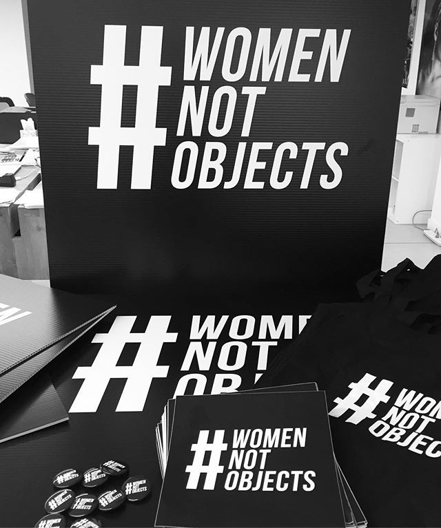 We've got our swag and are ready to march!  Are you?  Link in bio to join us this Saturday at the @womensmarch  and @nycwomensmarch ! #womennotobjects #whyimarch #whyimarchnyc #january21 #nyc  #washingtondc #equality