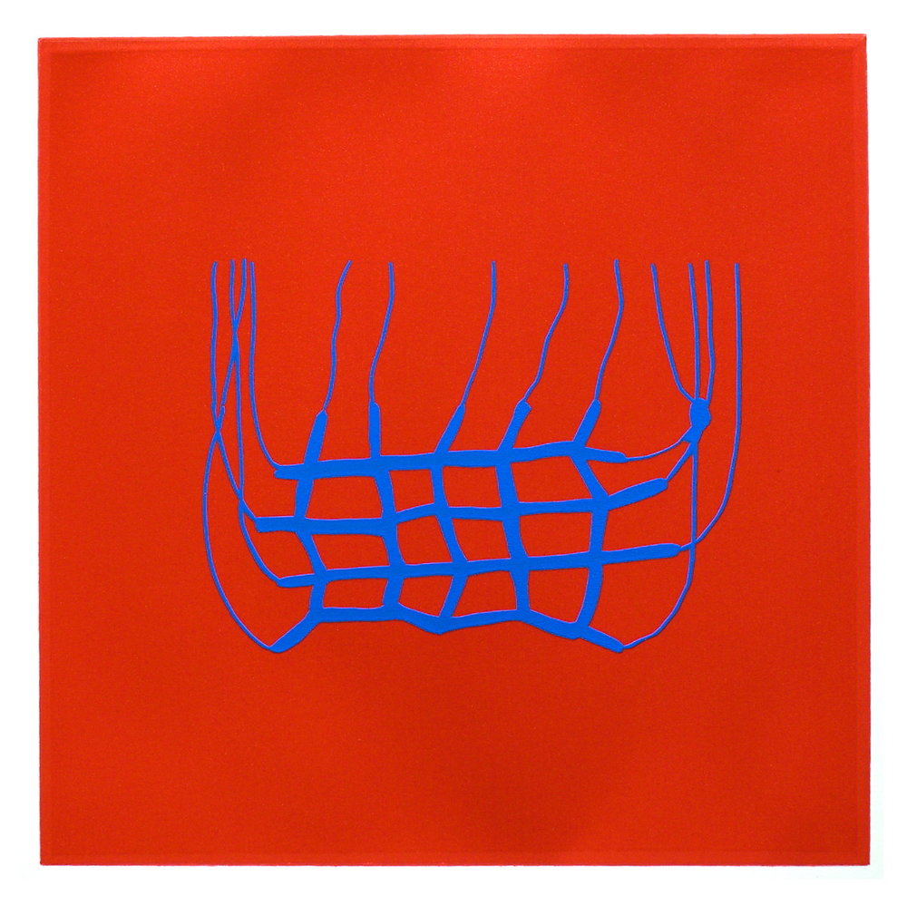 'Devco' serigraph on Arches paper 10 x 10'