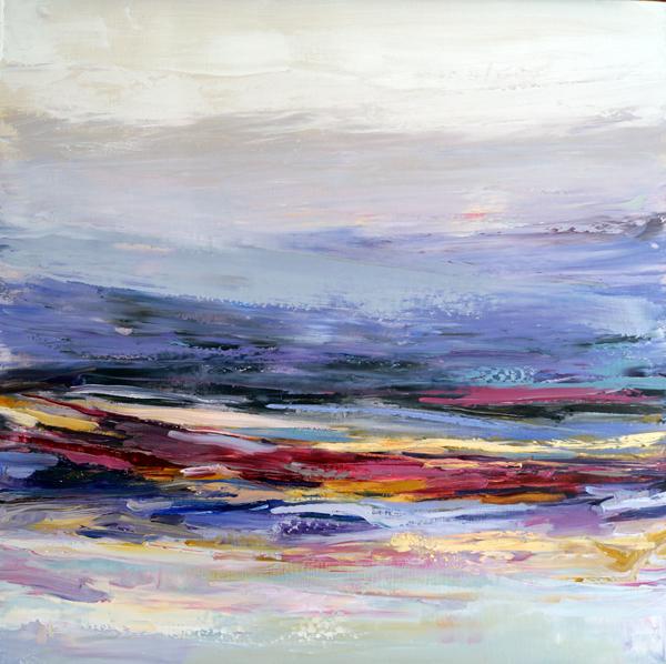 Rainbow Sweet, 30x30, Oil on Linen