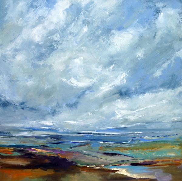 Magic Miles, Oil on Canvas, 30x30