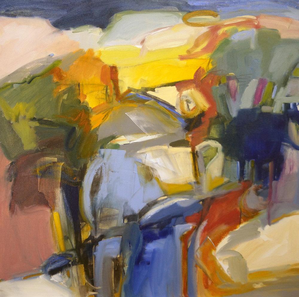 Sunshine Canyon, 36x36-Sold