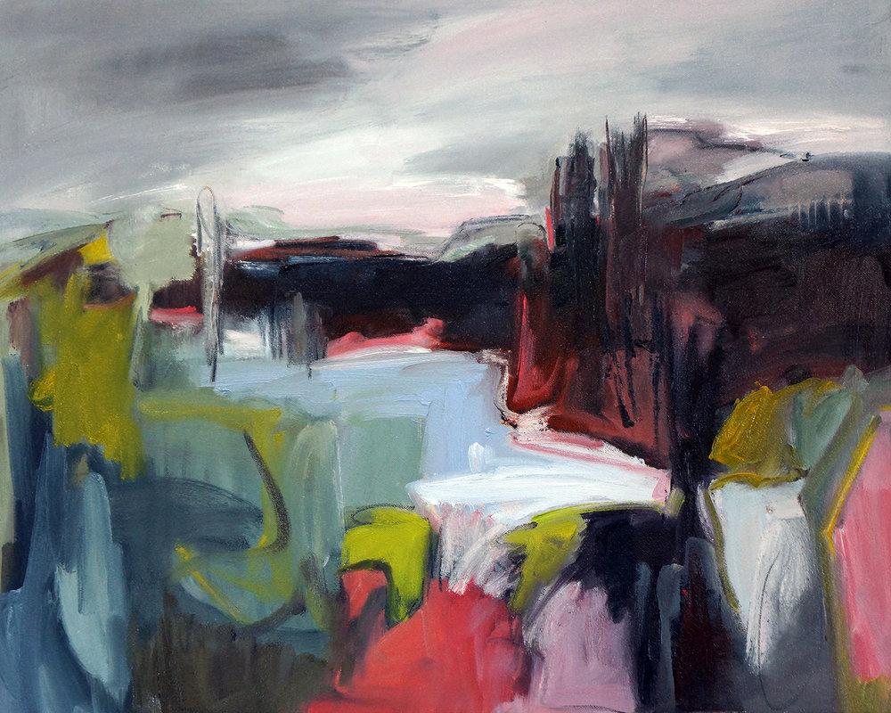 Hudson Nine, 24x30, Oil on Canvas
