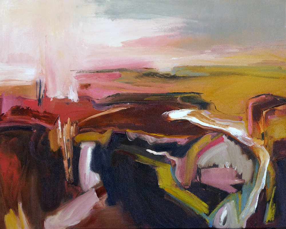 Hudson Seven, 24x30, Oil on Canvas