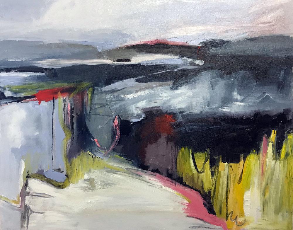 Hudson Ten, 24x30, Oil on Canvas