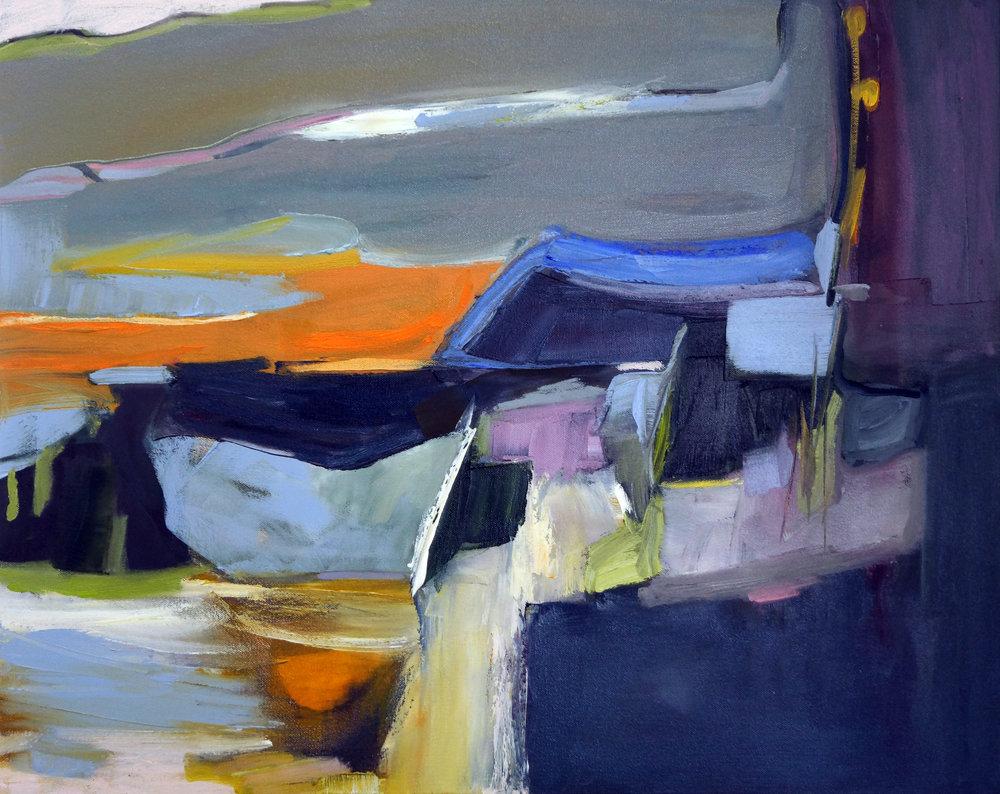 Hudson Twelve, 24x30, Oil on Canvas