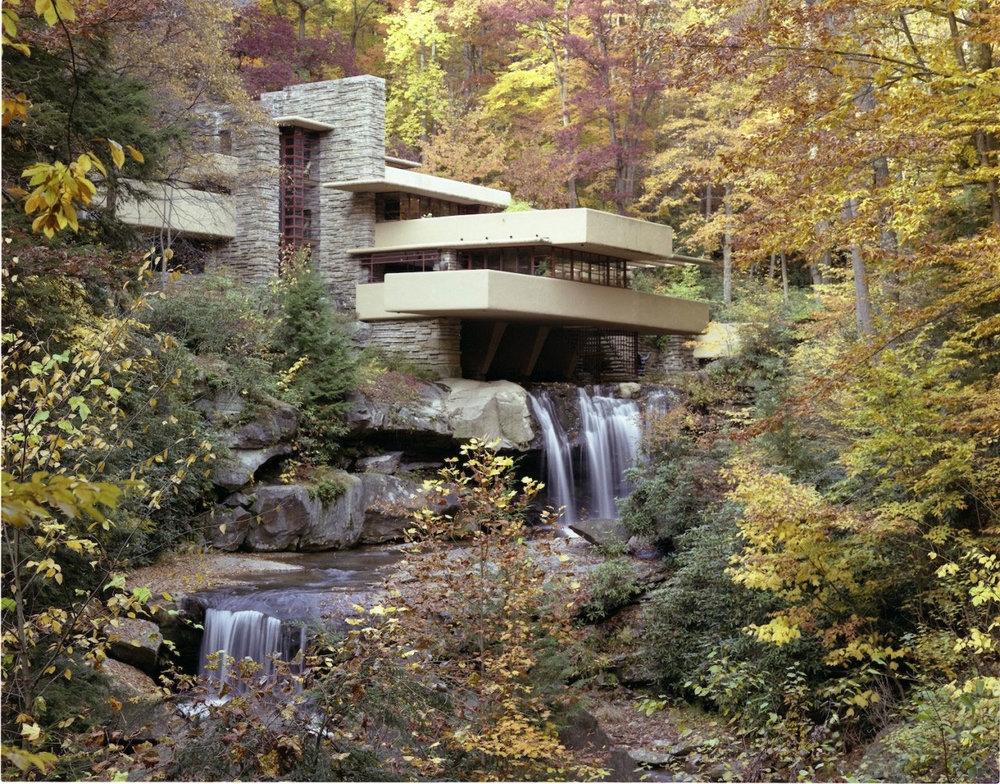 Fallingwater, Robert P. Ruschak, courtesy of the Western Pennsylvania Conservancy