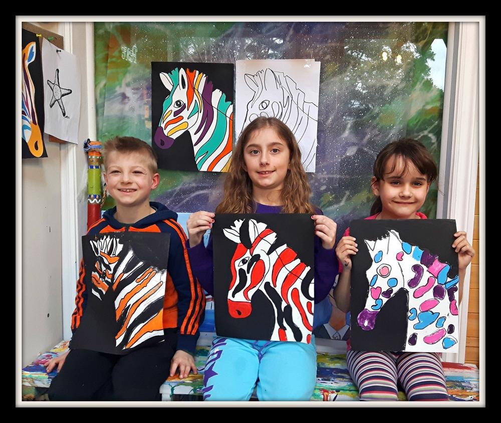 painted pizza night - vibrant zebras 7-11.jpg