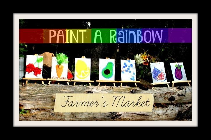 Paint A Rainbow Farmer's Market Sample - a Seaborn Art Studio creation