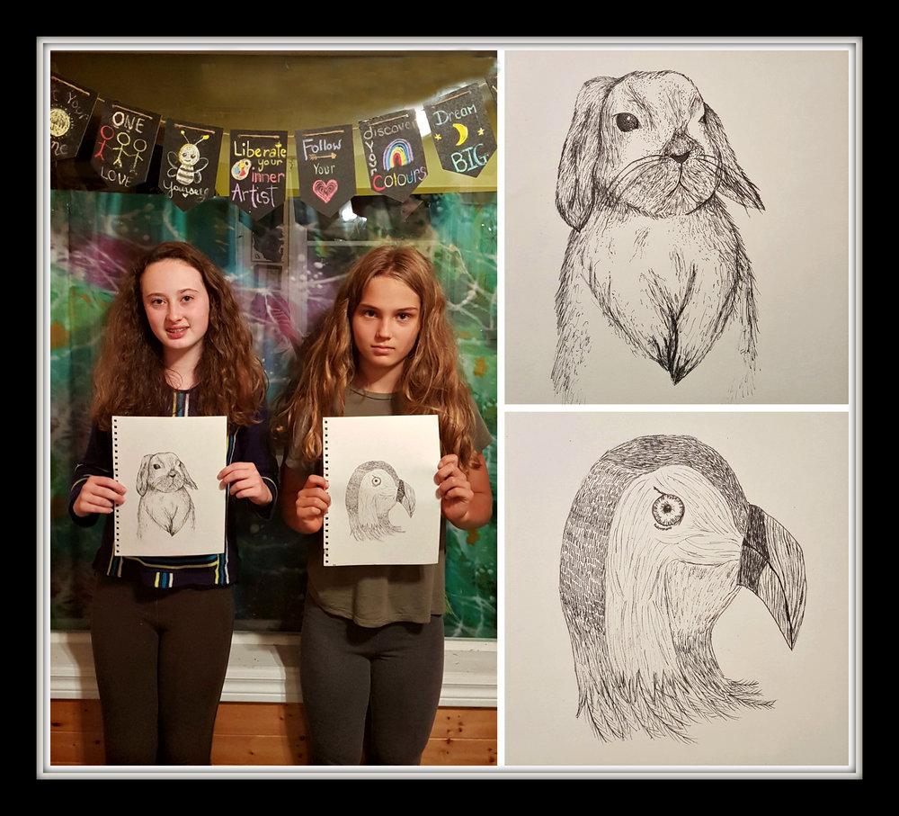 Drawing 101 Line Animal Portraits.jpg
