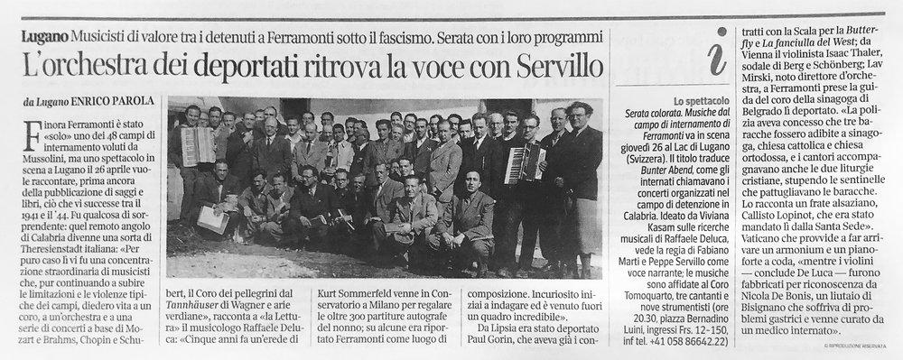 22.04.18 - Corriere della Sera