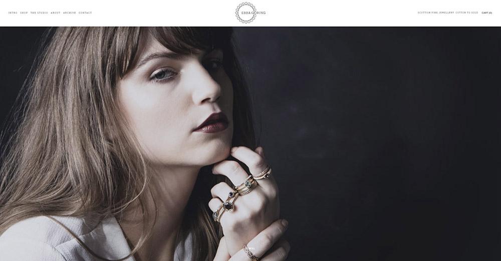 Ebba Goring Ecommerce -