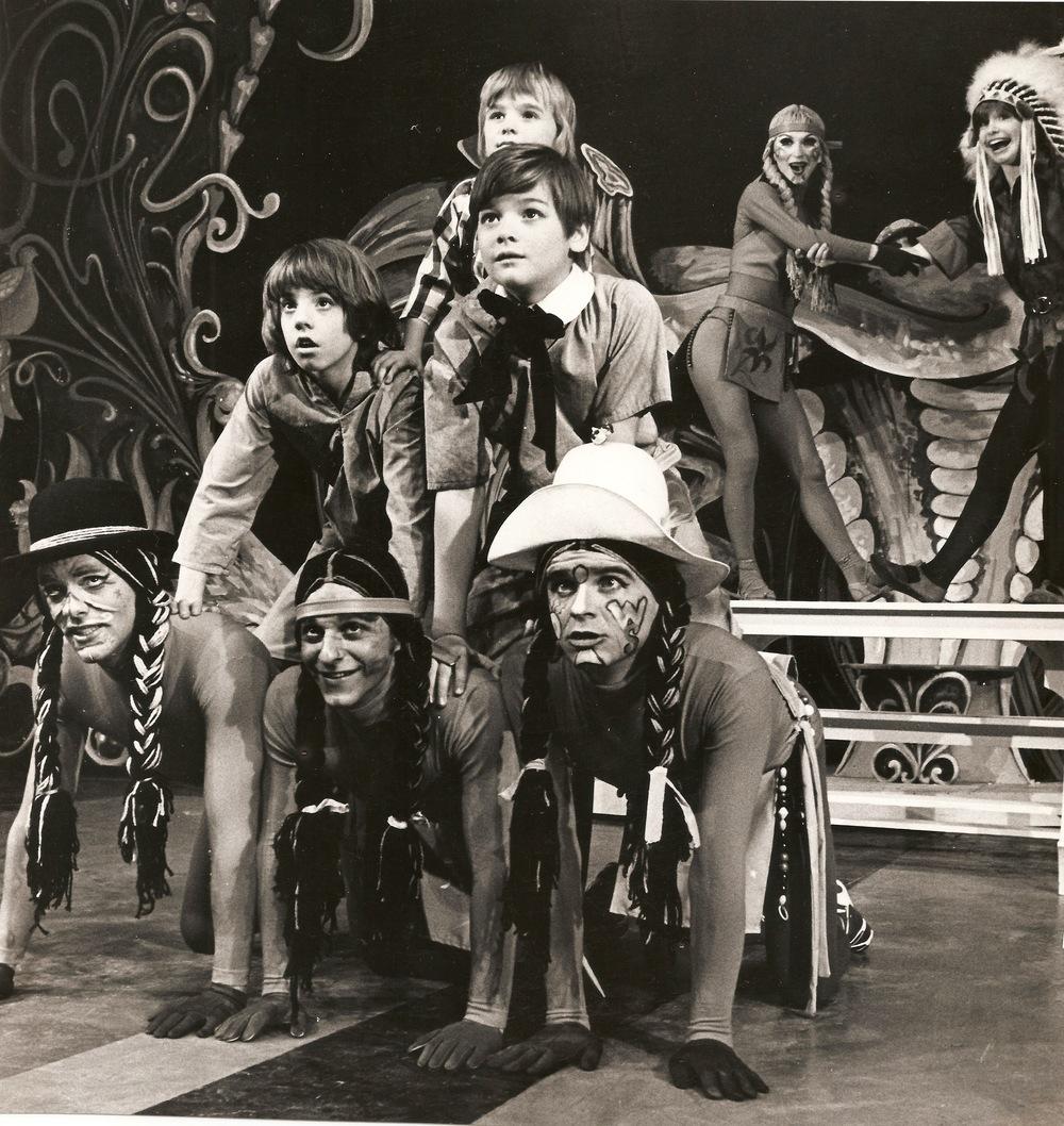 Jon Miele (center, bottom) Peter Pan  1972