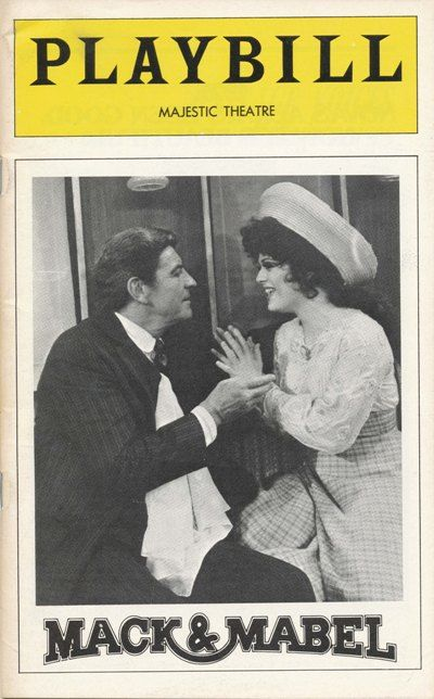 Mack and Mabel Broadway Playbill, 1974