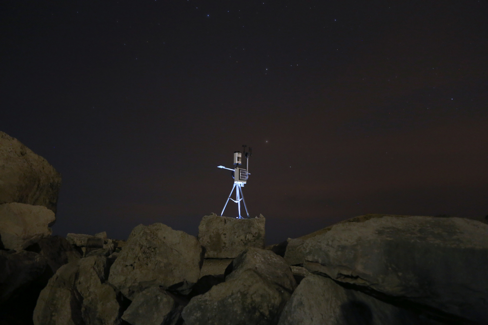 Variable 4 Installation Site, Portland Bill, 2014