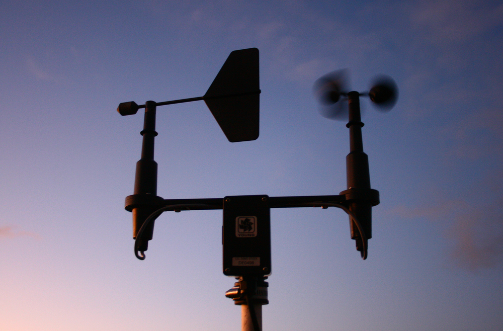 Anemometer, Variable 4 Installation, Elizabeth Castle, 2011