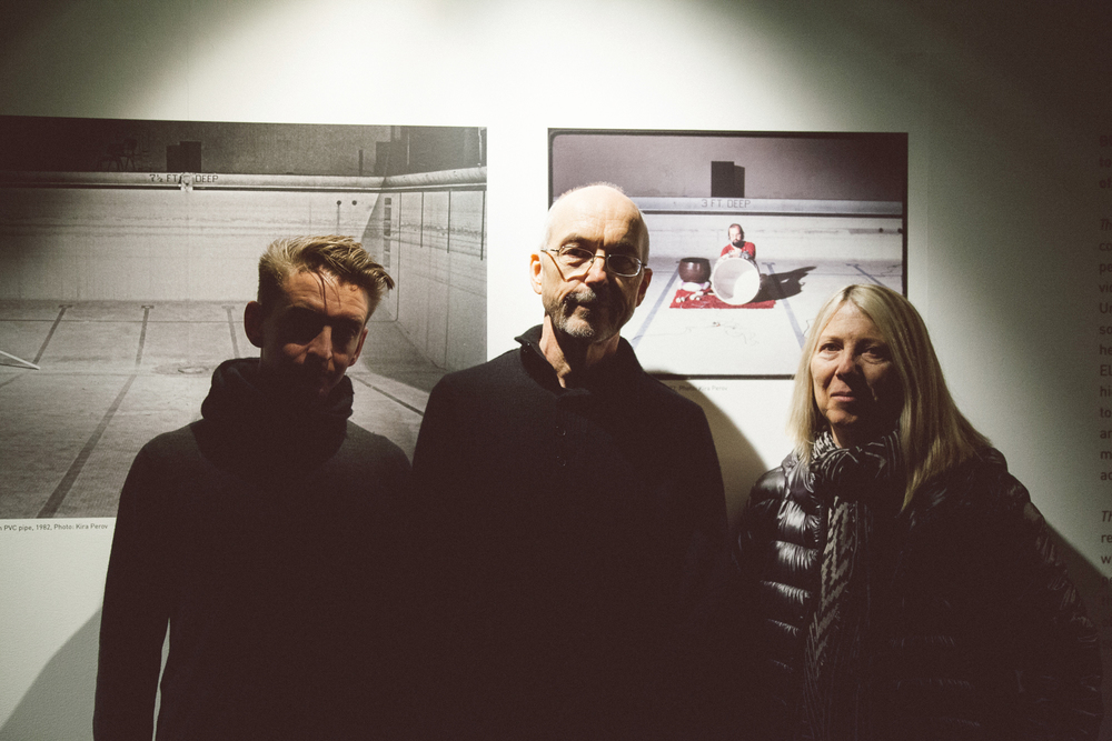 James Bulley, Bill Viola and Kira Perov
