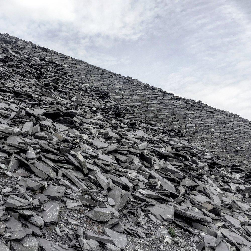 Dinorwic Quarry, Llanberis, Wales.