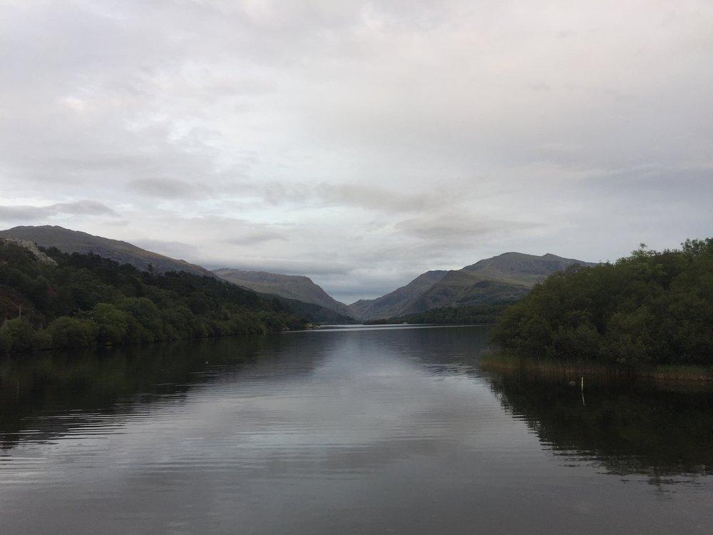 Llyn Padarn, Snowdonia, Wales